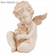Скульптура Империя Богачо Ангел с кроликом (22165 Ф)