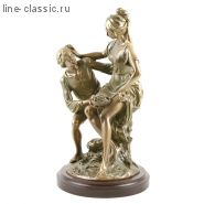 """Скульптура Империя Богачо Композиция """"Венок и фрукты"""" (22053 Б)"""