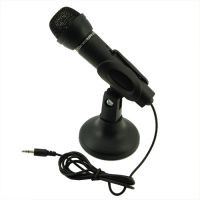 Караоке на компьютере или Мини микрофон Black 3.5mm
