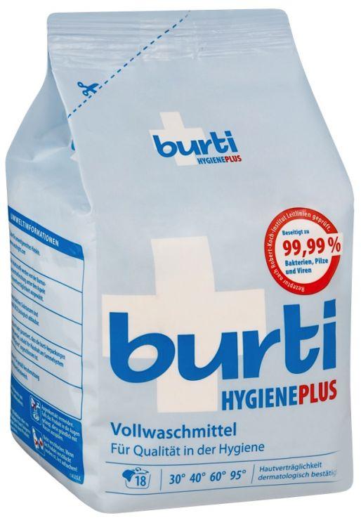 Burti Hygene Plus дезинфицирующий стиральный порошок, 1100 гр