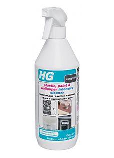 HG Средство для очистки пластика, обоев и окрашенных стен 500 мл