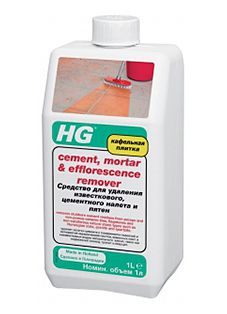 HG Средство для удаления известкового, цементного налёта и пятен 1000 мл