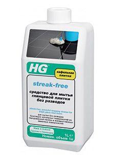HG Средство для мытья глянцевой плитки без разводов 1000 мл