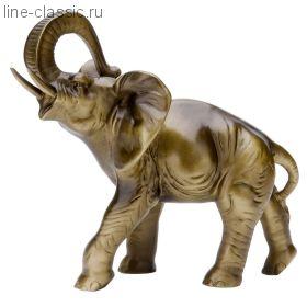 Скульптура Империя Богачо Слон большой (22117 Б)