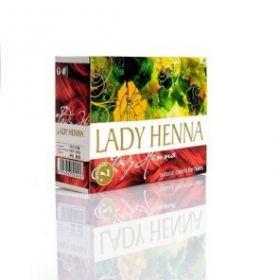 Махагони Краска для волос на основе хны Леди Хенна (LADY HENNA) 6 пак по 10г