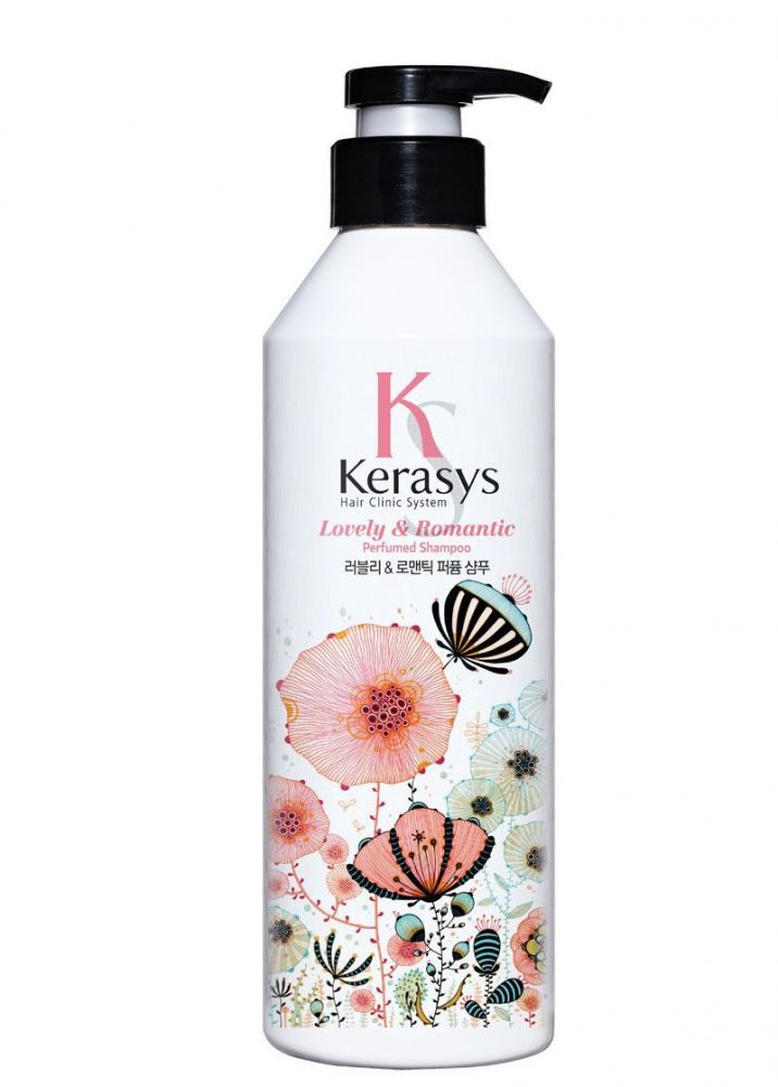 Kerasys Шампунь для волос Романтик Ю.Корея