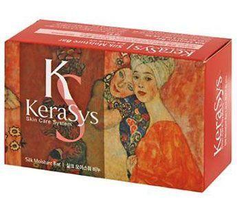 """Kerasys Мыло """"Silk Moisture"""", косметическое Ю.Корея"""