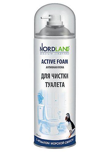 NORDLAND Пена для чистки туалета с ароматом морской свежести, 500 мл