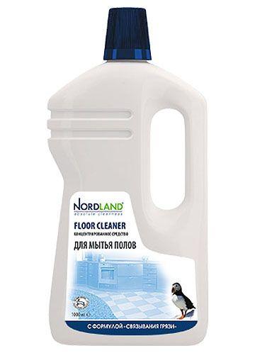 """Nordland Концентрированное средство для мытья полов с формулой """"Связывания грязи"""" 1 л"""