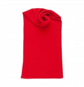 Теплая вязаная кашемировая шаль, высокая плотность, 100 % драгоценный кашемир ,цвет Кардинал, плотность 8