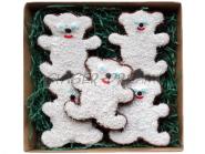 Сладкие подарки детям Пряники «Мишки на севере»