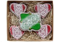 Сладкие подарки для женщин Наборы подарков Пряники «Кружева»