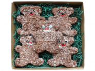 Наборы подарков для детей Пряники «Ласковые мишки»