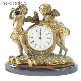 "Часы Империя Богачо ""Путти"" малые - 2 (43006 Б)"