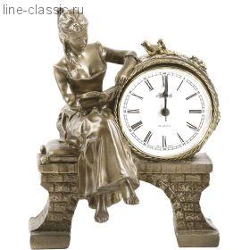 """Часы Империя Богачо """"Девушка с книгой"""" (41006 Б)"""