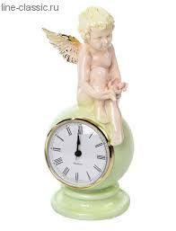 """Часы Империя Богачо """"Ангел с птичкой"""" (41002 Ф)"""