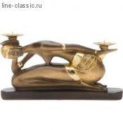 """Подсвечник Империя Богачо """"Этно"""" (скульптура) (22377 Б)"""