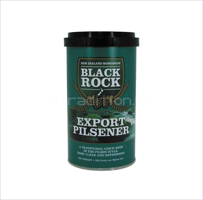 Пивная смесь Black Rock Export Pilsner, 1.7 кг