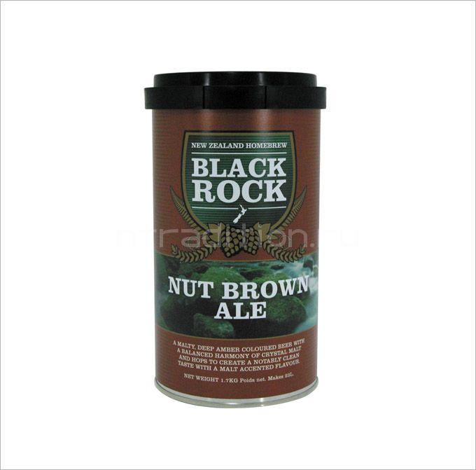 Пивная смесь Black Rock Nut Brown, 1.7 кг