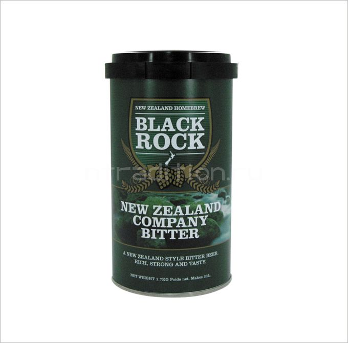Пивная смесь Black Rock NZ Bitter, 1.7 кг