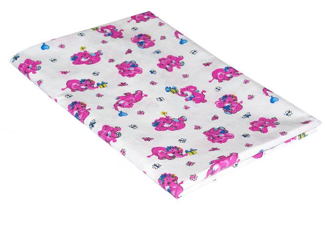 Хлопковая пеленка Розовые жучки