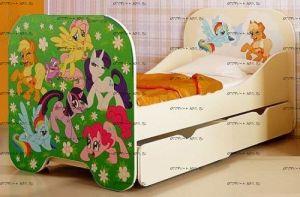 Кровать Пони КР-6.2 (80х190)
