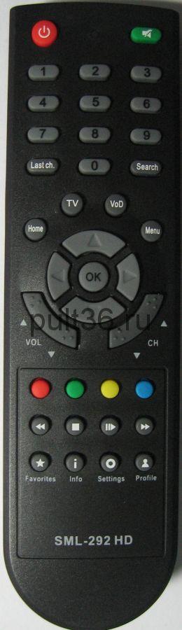 Пульт ДУ Ростелеком SML-292 HD Base ic (Smartlabs)