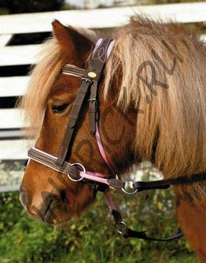 Беcтрензельная уздечка Barefoot Walnut Pony Lily