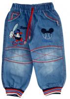 Джинсы для мальчика с Микки маусом от АВ Стайл 2633