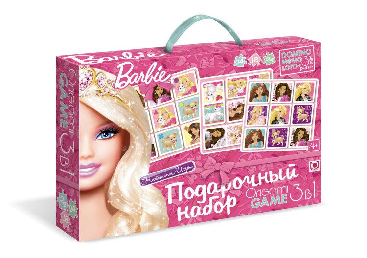 Подарочный набор Barbie 3 в 1