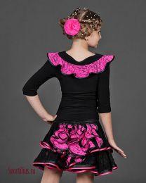 Юбка и блуза для латины