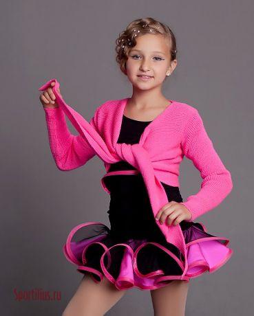 """Танцевальный костюм латина для юниоров 1 """"Pink"""""""