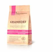 Grandorf Kitten Lamb & Rice Low Grain - Для котят в возрасте от 3 недель, беременных и кормящих кошек c ягненком и рисом (400 г)