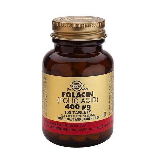 Фолиевая кислота 400 мкг