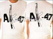 "Футболка ""АК-47"" белая"