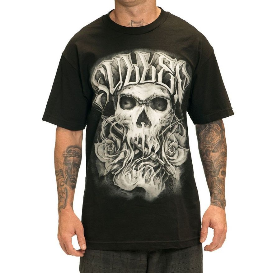 Sullen COLOR CRIMES Black Tee