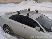Багажник на крышу Toyota Avensis, Атлант, аэродинамические дуги