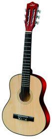 Детская деревянная гитара акустическая размер 1/2 76 см.