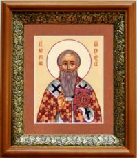 Мирон Критский (19х22), светлый киот
