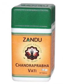 Чандрапрабха вати – Chandraprabha vati (ZANDU), 30 таблеток