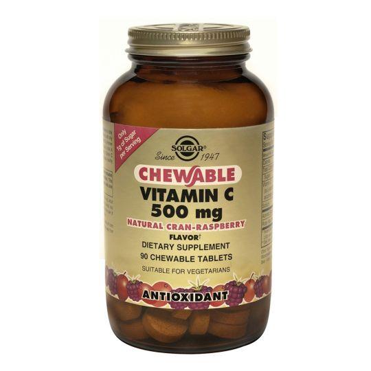 Витамин С 500 мг с Малиновым Вкусом