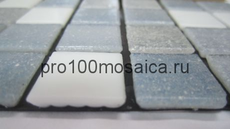 Aqua 400 (на бумаге) стекло. Мозаика серия ECONOM,  размер, мм: 327*327