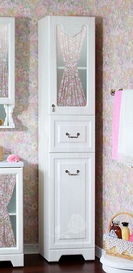 Пенал для ванной комнаты Бриклаер Кантри