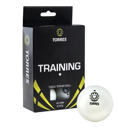 Мяч для настольного тенниса TORRES Training 1* TT0016