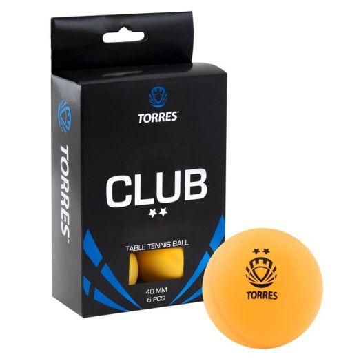 Мяч для настольного тенниса TORRES Club 2* TT0013