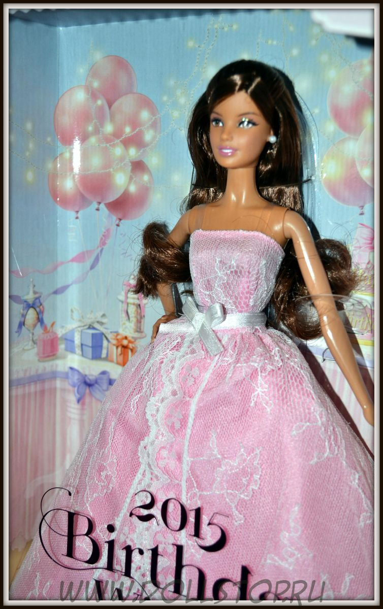 2015 Birthday Wishes Hispanic Barbie Doll