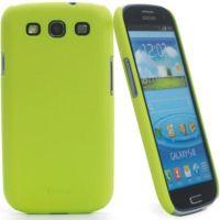 Накладка Muvit iGum Back Case для Samsung GT-I9300 Galaxy S3 - Green