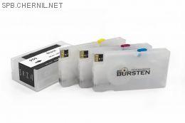 Перезаправляемые картриджи Bursten Nano для HP OfficeJet Pro 8100, 8600  с картриджами HP 950, 951 x 4 шт. С авто-чипом
