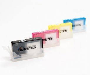 Перезаправляемые картриджи Bursten Nano для HP OfficeJet, PhotoSmart, DeskJet с картриджами HP 178 и HP 920 x 4 шт. Без чипов.