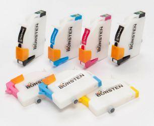Перезаправляемые картриджи Bursten Nano 2 для Epson  Stylus 950 (T331(2)- T336) x 7 шт.